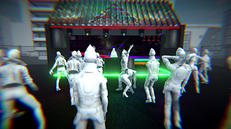 Roto Color Rhythm Live Music Festival Game